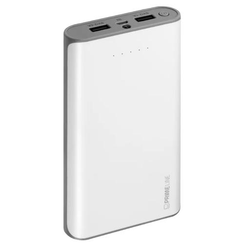 Внешний аккумулятор Deppa Prime Line 20000 mAh 2USB 2.1A+2.5A White