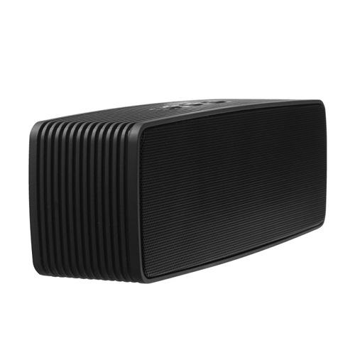 Колонка Ginzzu Bluetooth GM-875B 2х3W/1.2Ah/USB/TF/AUX/FM Black