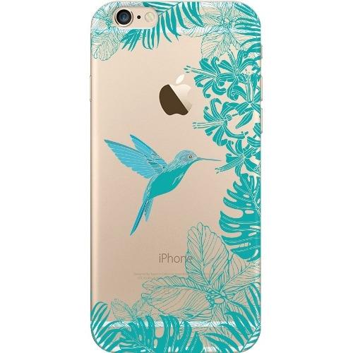 Накладка пластиковая Deppa Art Case iPhone 6/6S Jungle Колибри