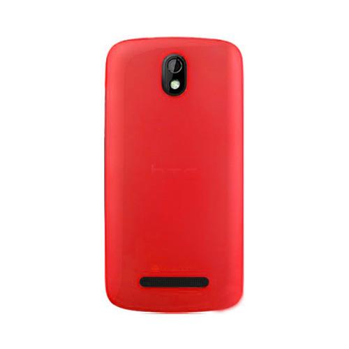 Накладка силиконовая HTC Desire 500 dual SIM Matt Red