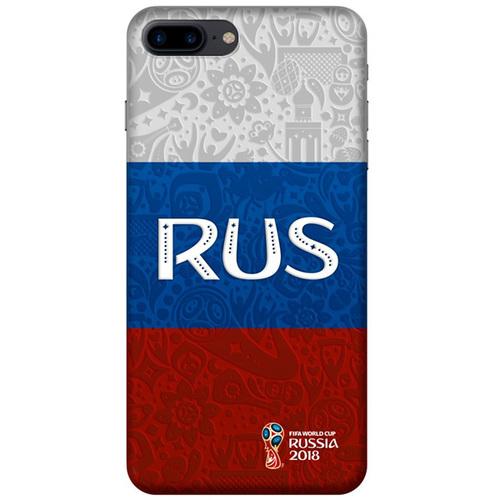 Накладка пластиковая Deppa FIFA IPhone 7 Plus/8 Plus Flag Russia