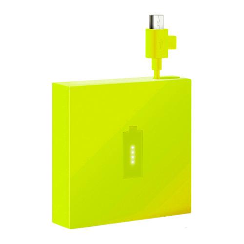 Внешний аккумулятор Nokia DC-18 micro-USB 1720mAh Yellow