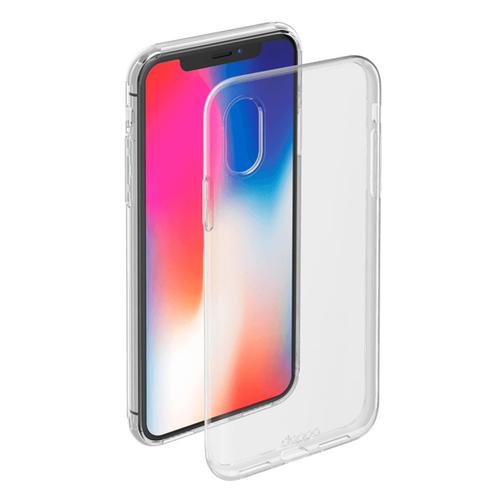 Накладка силиконовая Deppa Gel Case iPhone X Clear
