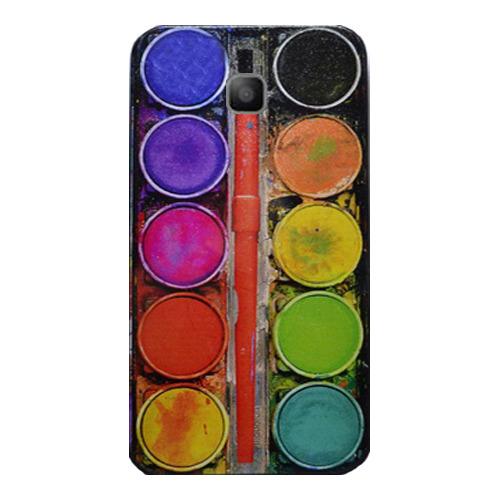 Накладка пластиковая QRCase Samsung I8160 Краски N148B