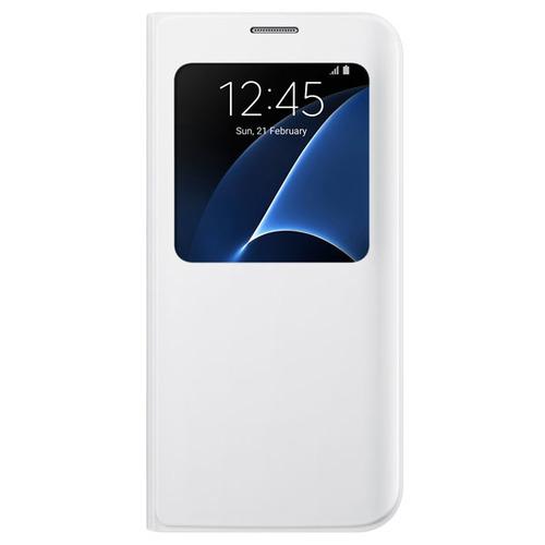 Чехол-книжка Samsung S View Cover Galaxy S7 Edge (EF-CG935PWEGRU) White