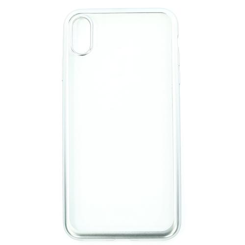 Накладка силиконовая uBear Frame Tone Case iPhone Xs Max Silver