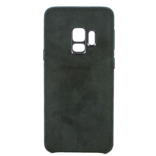 Накладка Samsung Alcantara Cover для Galaxy S9 (EF-XG960ABEGRU) Black
