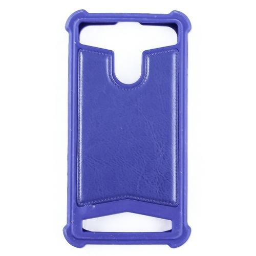"""Универсальная задняя панель Gresso классик 4,5-4,7"""" Blue"""