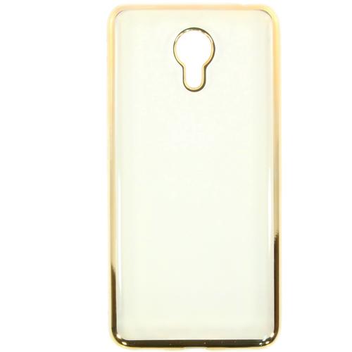 Накладка силиконовая Goodcase Meizu M3 Note Gold