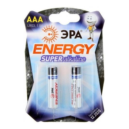Батарея Эра LR03 AAA (блистер 2шт.)