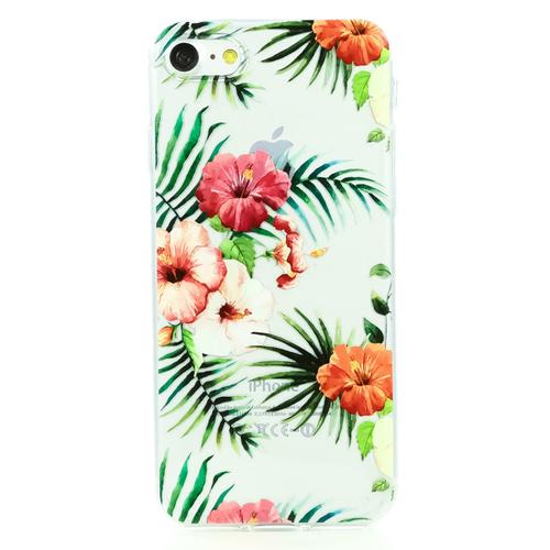 Накладка силиконовая BoraSCO ArtWorks iPhone 7/8 Гибискус