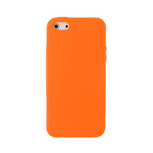 Накладка пластиковая Baseus iPhone 5 Organdy Case 0.4mm Orange