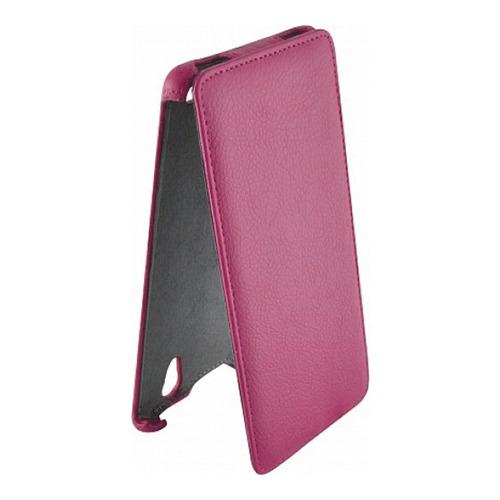 Чехол-флип для Sony Xperia T2 Ultra D5303, Armor, розовый