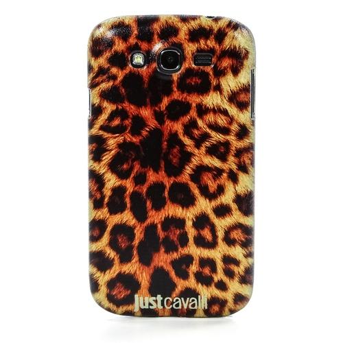 Накладка пластиковая QRCase на Samsung I9082 Леопард N175B