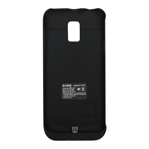 Накладка-аккумулятор Exeq Samsung G800F Galaxy S5 mini HelpinG-SC09 3300mAh Black
