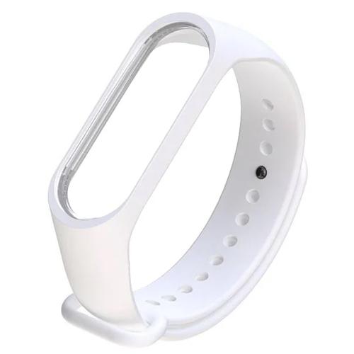 Ремешок для фитнес-браслета Xiaomi Mi Band 3 White