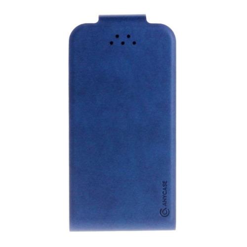 """Чехол-флип Anycase Flip Fold S универсальный (3.5""""-4.3"""") Blue"""
