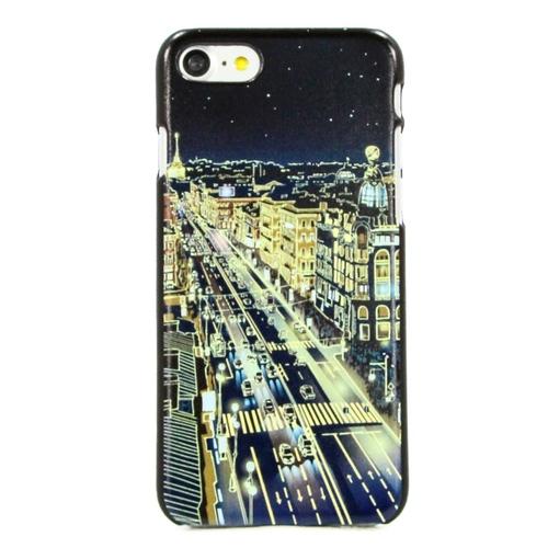 """Накладка пластиковая HAPPYTIME iPhone 7 / iPhone 8 """"Невский проспект ночью"""""""