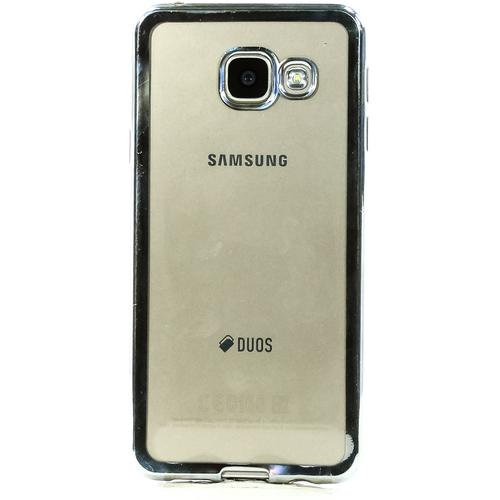 Накладка силиконовая DF на Samsung Galaxy A5 (2016) Silver