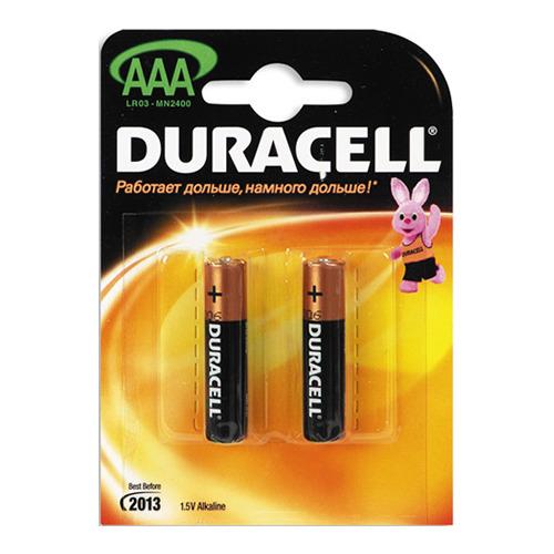 Батарейки Duracell LR03 AAA (блистер 2шт.)