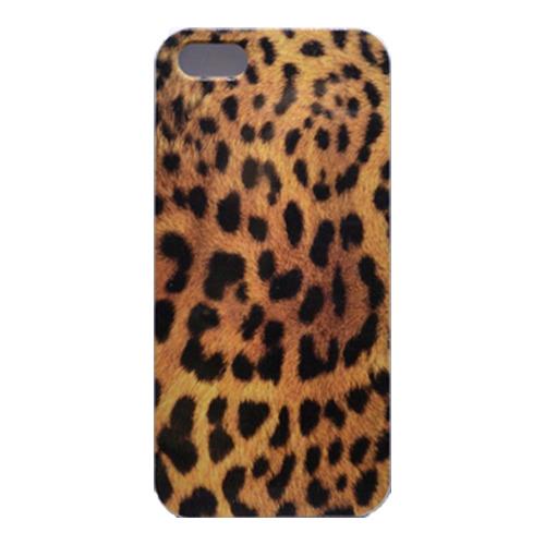 Накладка пластиковая QRCase iPhone 4/4S Леопард N150W