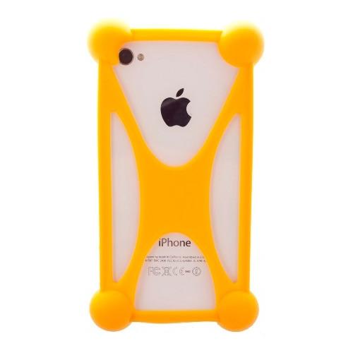 """Бампер Partner силиконовый универсальный 3.5""""-5.5"""" Orange"""