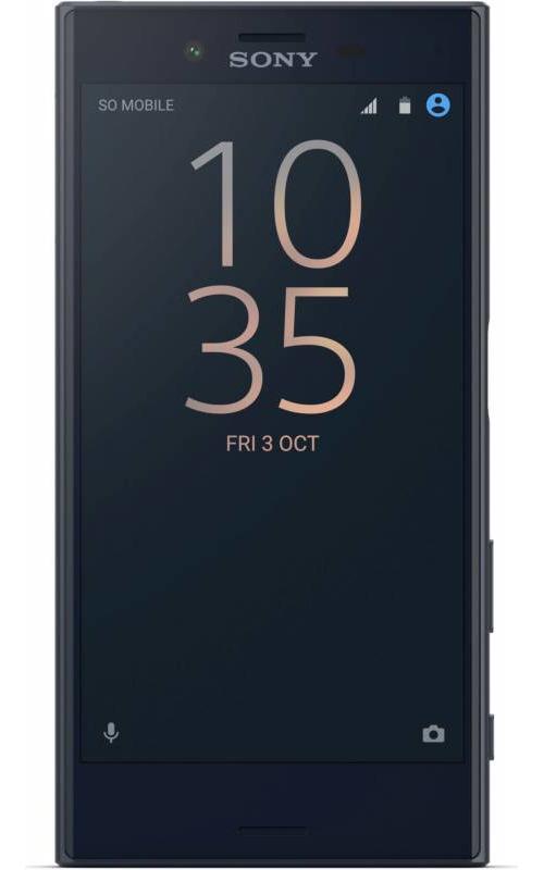 Телефон Sony F5321 Xperia X Compact Universe Black