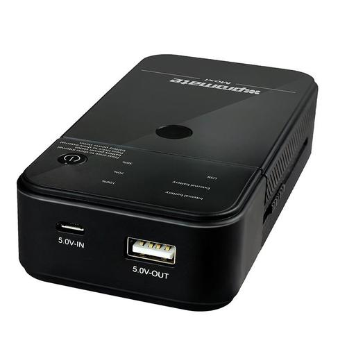 Внешний аккумулятор Promate Moxi 5000 mAh Black