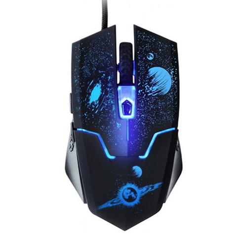 Мышь Qumo Supernova М24 игровая проводная 6кн, 1000-3200DPI, 1.5m, USB Black