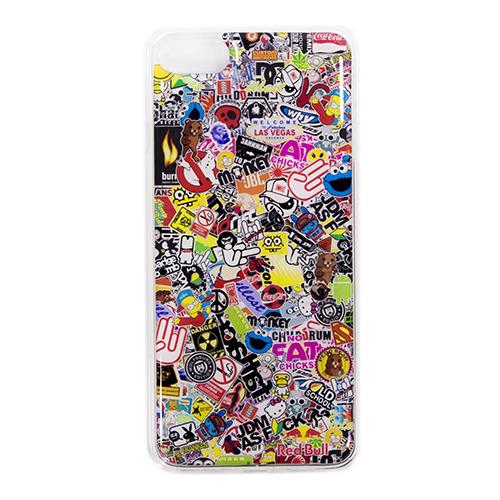 Накладка силиконовая IceTwice iPhone 7 / iPhone 8 StickerBomb №524