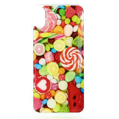 Накладка силиконовая IceTwice iPhone X Candy №1197