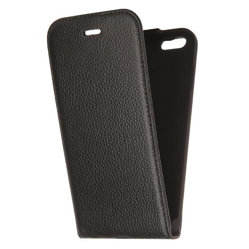 Чехол-книжка Deppa Flip Cover и защитная пленка iPhone 6 Black