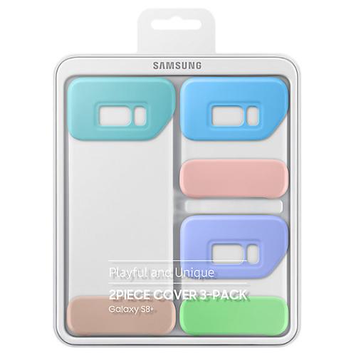 Комплект чехлов Samsung Cover для Galaxy S8+ (EF-MG955KMEGRU)