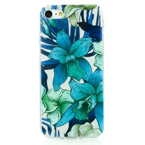 Накладка силиконовая BoraSCO ArtWorks iPhone 7/8 Лилии