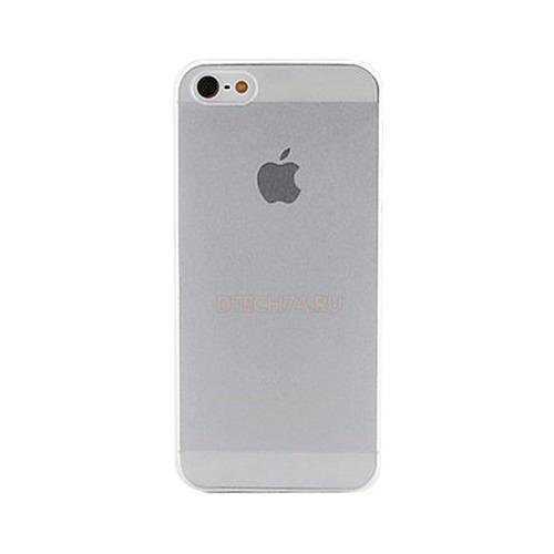 Накладка пластиковая iPhone 5/5S/SE Ultra-Slim 0,35мм White