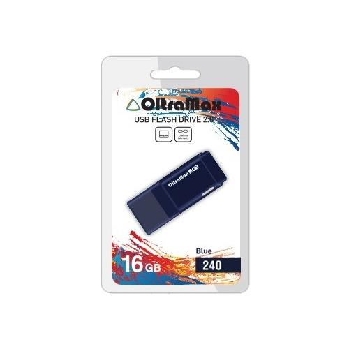 Флешка USB OltraMax 240 (16Gb) Blue