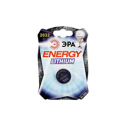 Батарейка Эра CR2032 (блистер 1шт.)