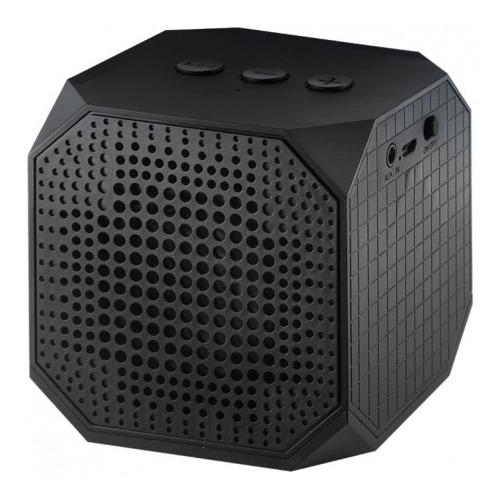 Колонка Ginzzu Bluetooth GM-991B Кубик 5W/TFcard/AUX Black
