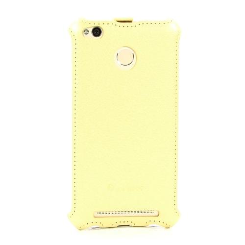 Чехол-книжка Armor Xiaomi Redmi 3S/3Pro Gold