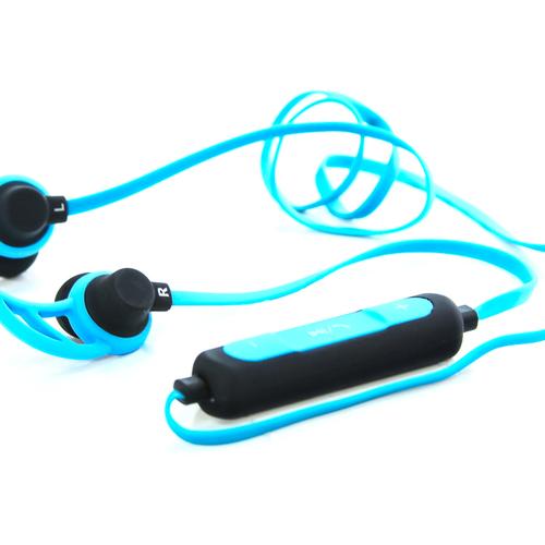 Bluetooth стереогарнитура Ritmix RH-400BTH Blue фото 4