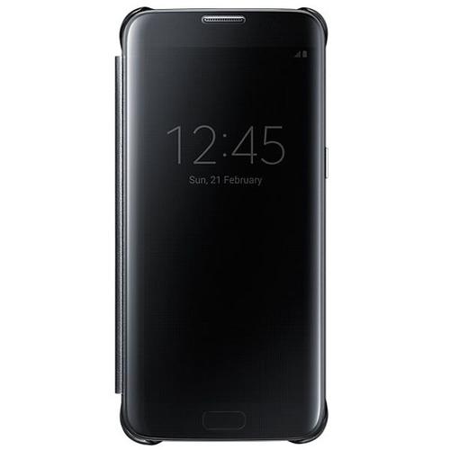 Чехол-книжка Samsung Clear View Standing Cover Galaxy S7 Edge (EF-ZG935CBEGRU) Black