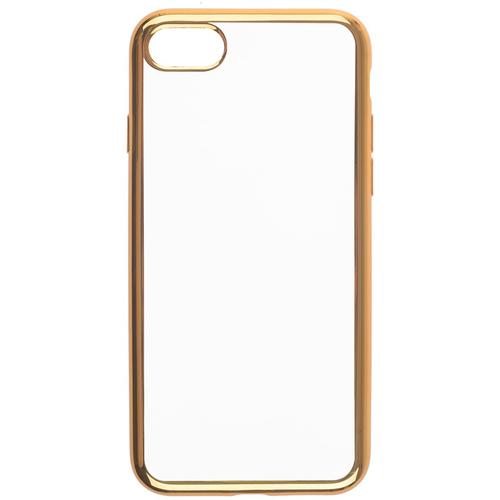 Накладка силиконовая skinBox chrome Xiaomi Redmi 4A Gold