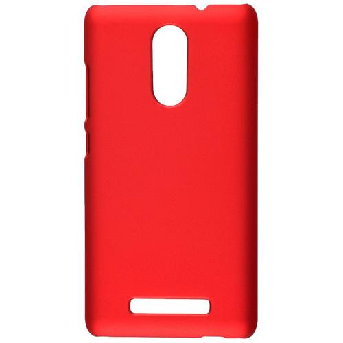 Накладка пластиковая skinBox Xiaomi Redmi Note 3 4People Red