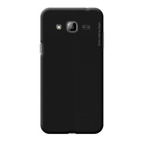 Накладка пластиковая Deppa Air Case Samsung Galaxy J3 (2016) Black