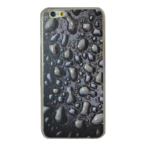 Накладка силиконовая iPhone 5/5S/SE Дождь (DJ)