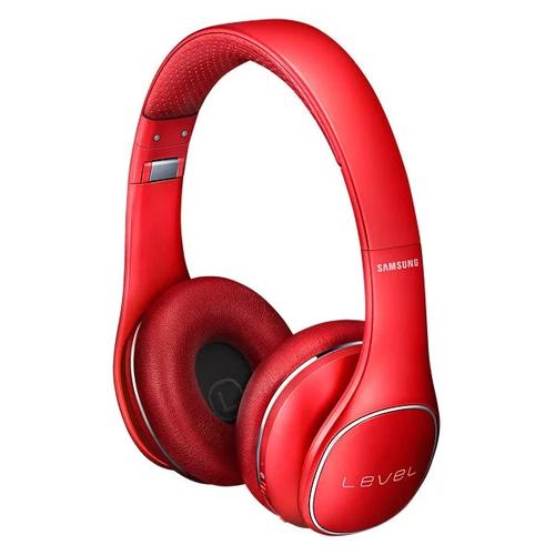 Беспроводные накладные наушники Samsung Level On EO-PN900BLEGRU красные