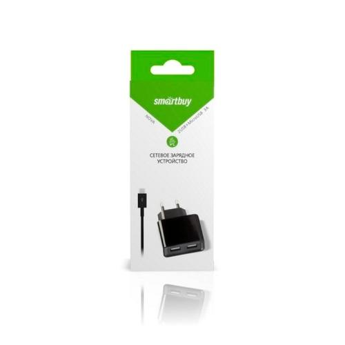 Сетевое зарядное устройство Smartbuy micro USB SBP-6050 3A