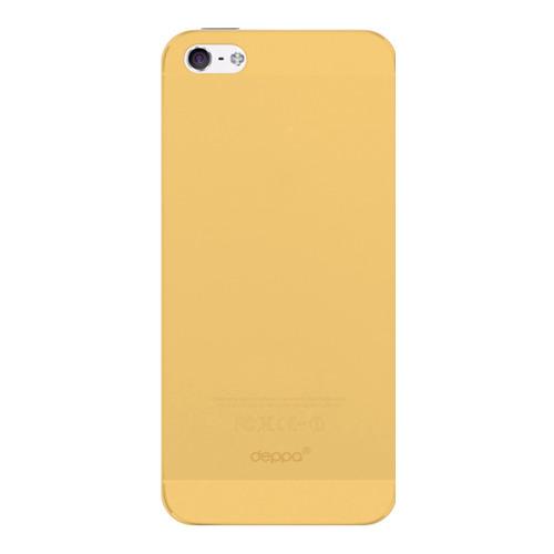Накладка пластиковая Deppa Sky Case iPhone 5/5S/SE 0.33mm Gold фото