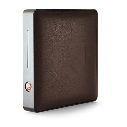 Внешний аккумулятор Qumo PowerAid Real Leather 7000 mAh Brown