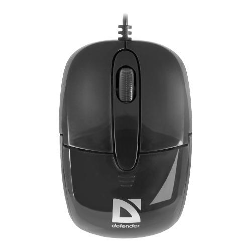 Мышь Defender Optimum MS-130 USB проводная Black